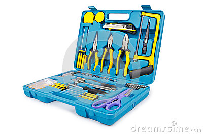 Toolkit with many tools