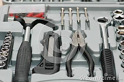 Toolkit with various carpenter
