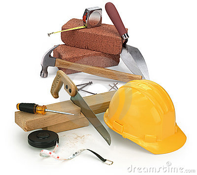 Free Tools And Construction Materials Royalty Free Stock Photos - 1143058