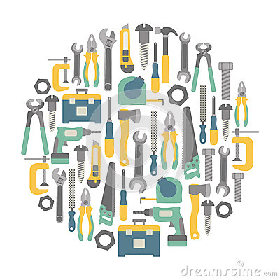 Free Tools Card Stock Images - 40799514