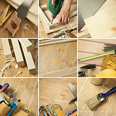 Free Tools Collage Stock Photo - 20645890