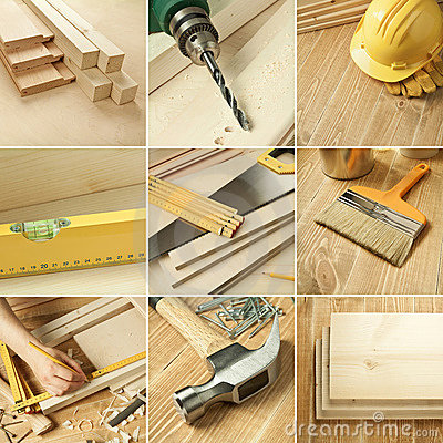 Free Tools Collage Royalty Free Stock Images - 20825039
