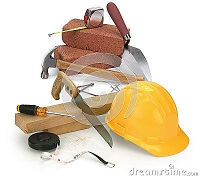Tools and construction materials