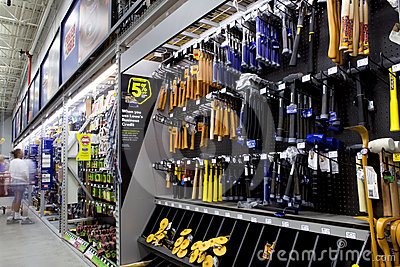 Tools Department Editorial Photo