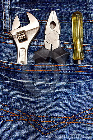 Tools and jeans