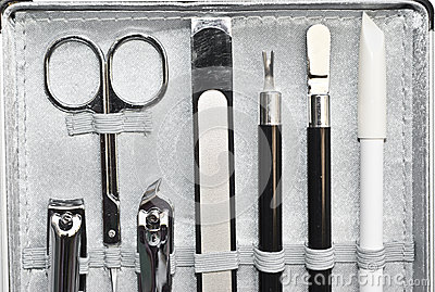 Tools of a manicure