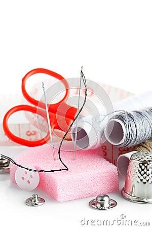 Tools for needlework thread scissors