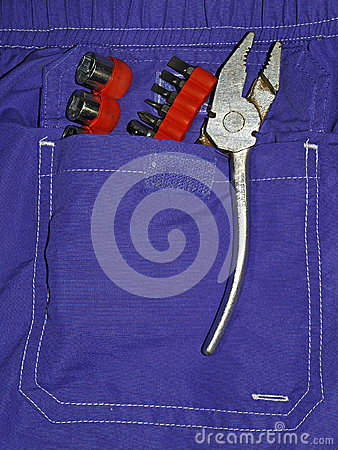 Tools pocket