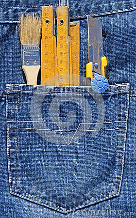 Tools and pocket