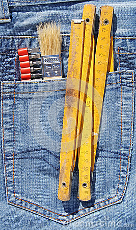 Tools and pocket