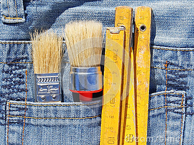 Tools in pocket