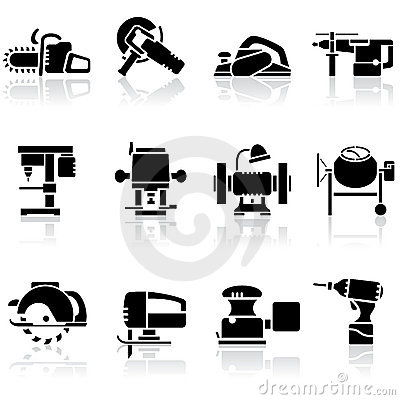 Tools set icons
