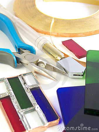 Tools for stained-glass