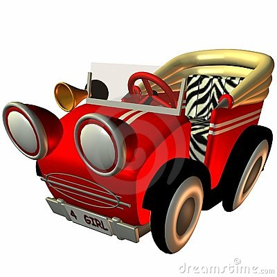 Toon Buggy-Sporty