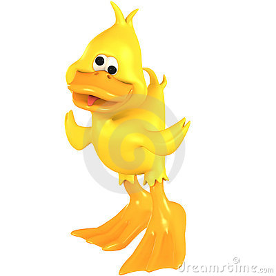 Free Toon Duck Quack Royalty Free Stock Images - 6947199