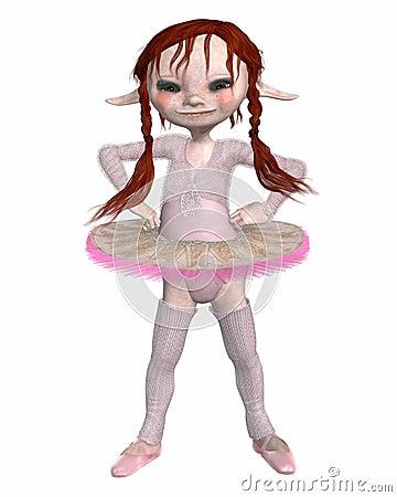 Toon Goblin Ballerina