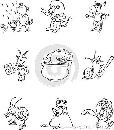 Toon Mascots