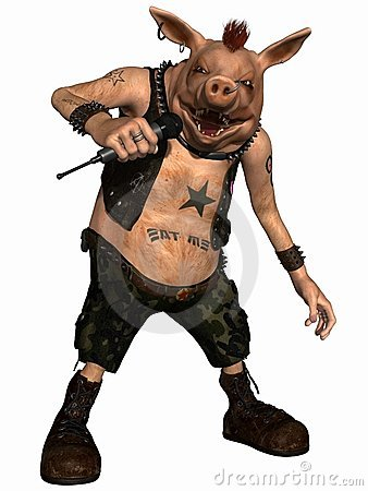 Toon Pig - Punk