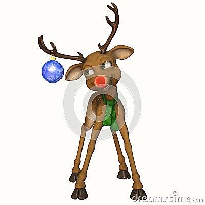Toon Reindeer 3