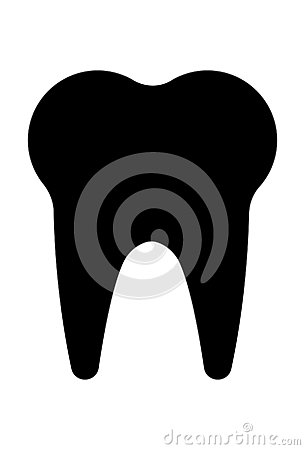 Tooth Icon Vector Vector Illustration