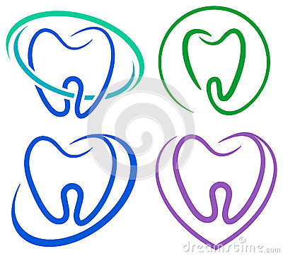 Free Tooth Icons Royalty Free Stock Image - 39984356