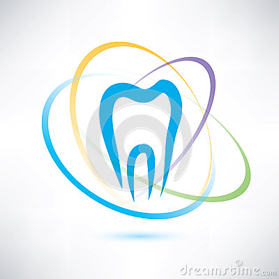 Free Tooth Protection Symbol Royalty Free Stock Photography - 37795907
