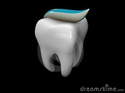 Tooth And Toothpaste Stock Images - Image: 8346734