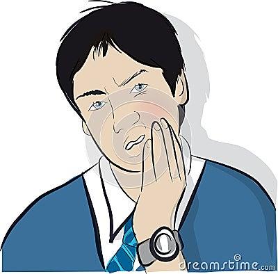 Toothache teen