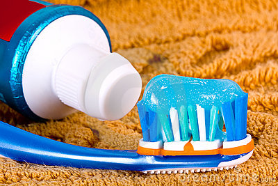 Toothbrush detail.