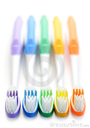 Free Toothbrushes Royalty Free Stock Photos - 13481958