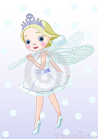 Free Toothfairy With Toothbrush Royalty Free Stock Images - 8968969