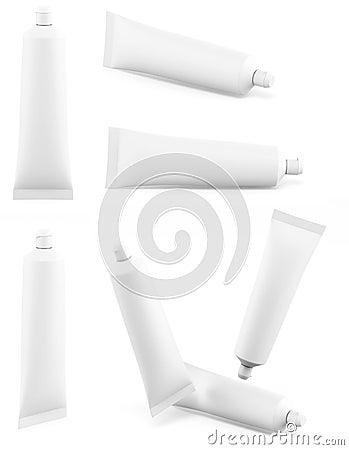 Free Toothpaste White Tube Stock Photos - 29137013