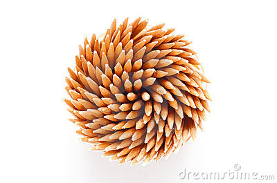 Toothpicks from above