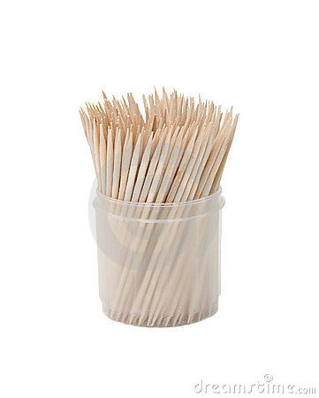 Free Toothpicks In Box Stock Photography - 11829792
