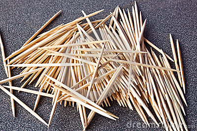 The toothpicks