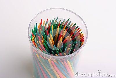 Toothpicks sharp