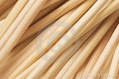 Toothpicks Texture Macro Isolated