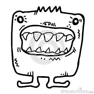 Toothy bug