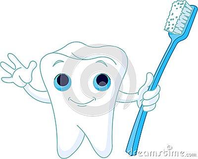 Toothy leende