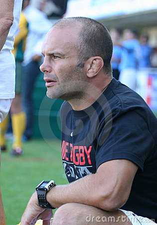 Top 14 rugby match USAP vs Stade Toulousain Editorial Photography