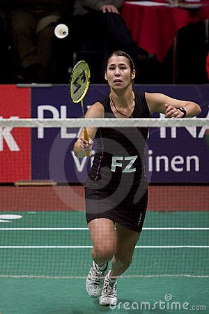 Top Badminton Player Judith Meulendijks Editorial Stock Image