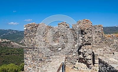 Top of the castle of Jimena de la Frontera