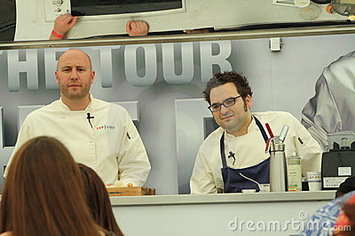 Top chefs on tour Editorial Photo