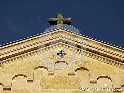 Top of christian church