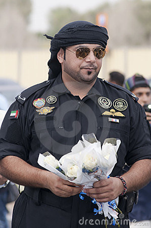 Top Cop, Abu Dhabi Editorial Stock Image