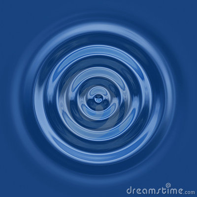 Top down water ripple