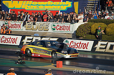 Top Fuel Dragster Event Editorial Stock Image