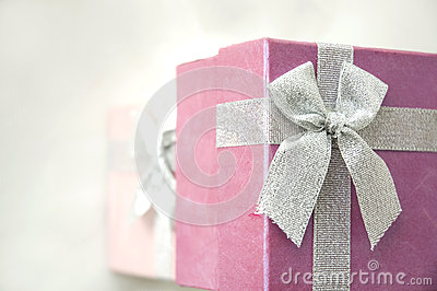 Top of gift boxes
