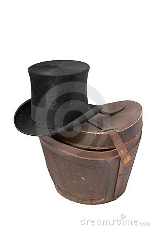 Top hat (silk hat) of 19th century