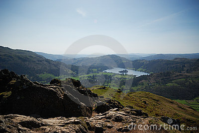 The top of Helm Crag